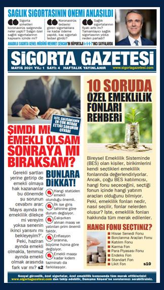 Sigorta Gazetesi 4. Sayısı