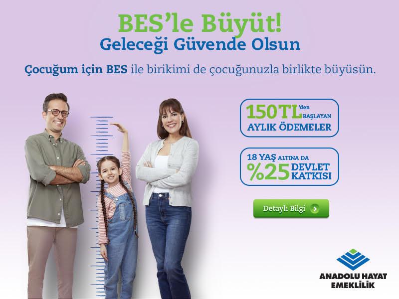 Anadolu Hayat Emeklilik - 18 yaş altı BES